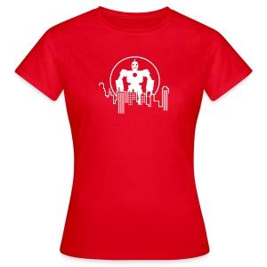 Robot Skyline T-Shirts - Frauen T-Shirt