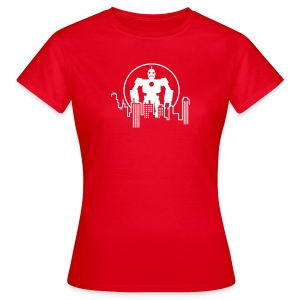 Robot Skyline T-Shirts - Frauen T-Shirt