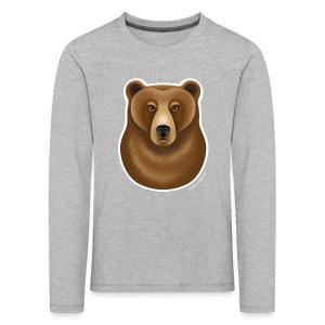 """""""Grumpy Grizzly"""" Kinder Langarmshirt - Kinder Premium Langarmshirt"""