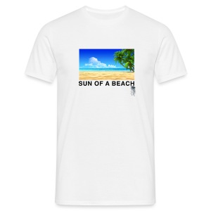 SUN OF A BEACH - T-shirt Homme