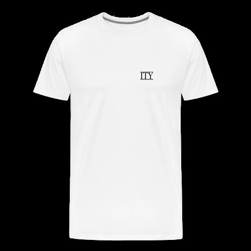 =ITY Front Logo T-shirt - Men's Premium T-Shirt