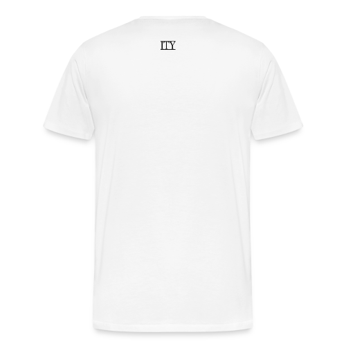 =ITY with Small Back Logo T-shirt - Men's Premium T-Shirt