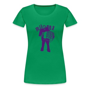 hoy milonga - Frauen Premium T-Shirt