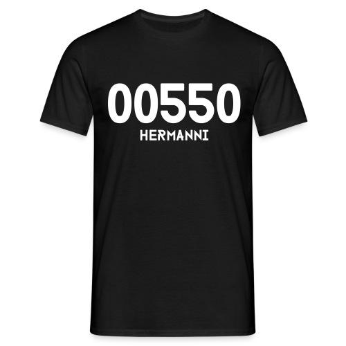00550 HERMANNI - Miesten t-paita