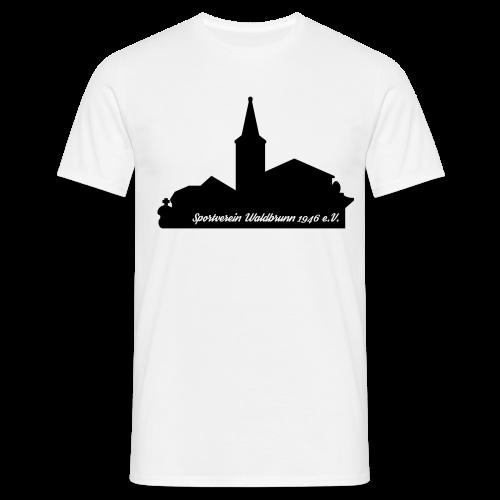 Rundhals T-Shirt Skyline - Männer T-Shirt