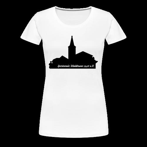 Rundhals T-Shirt Damen Skyline - Frauen Premium T-Shirt