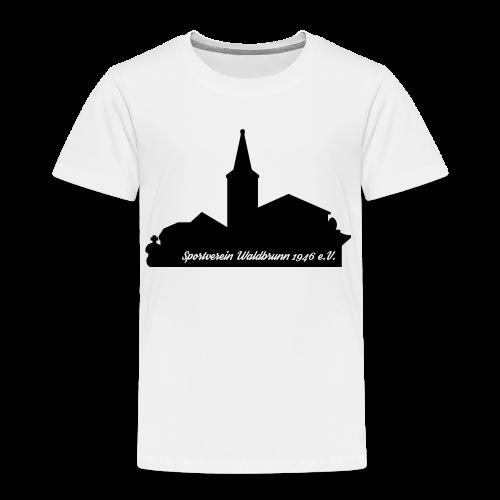 Rundhals T-Shirt Kinder Skyline - Kinder Premium T-Shirt