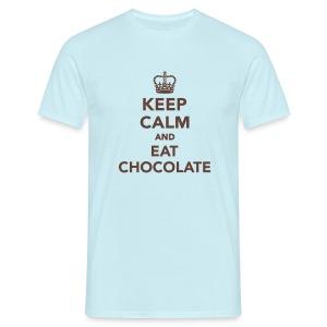 Shirt Eat Chocolate - Männer T-Shirt