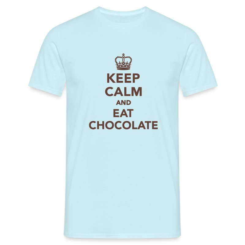 Shirt Eat Chocolate - Männer T-Shirt