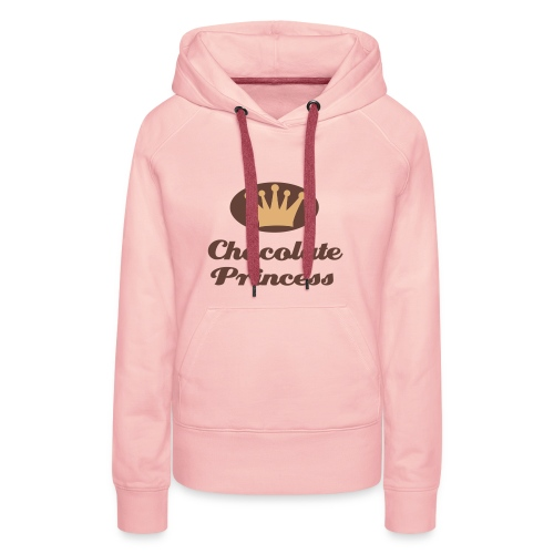 Kapuzenpullover Chocolate Princess - Frauen Premium Hoodie