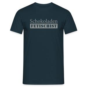 Shirt Schokoladenfetischist - Männer T-Shirt