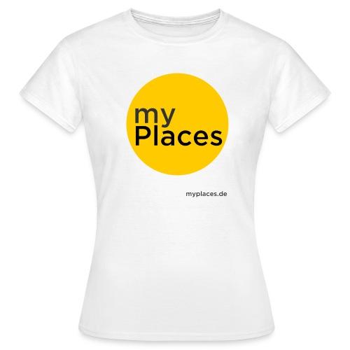 Ladies T-Shirt mit 2 Logos - Frauen T-Shirt