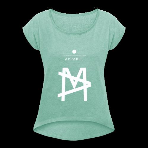 Masher ❁ MA - Maglietta da donna con risvolti