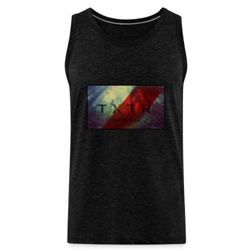 TXTR (Tank Shirt)  [MEN] - Männer Premium Tank Top