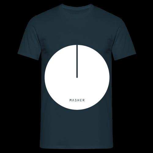 Masher ❁ White Logo - Maglietta da uomo
