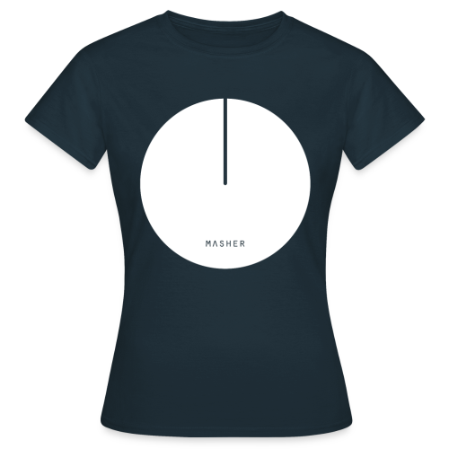 Masher ❁ White Logo - Maglietta da donna
