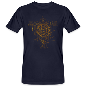 Hypermandala - Bio Shirt men - Männer Bio-T-Shirt