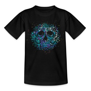 Splash Skull Tee shirts - T-shirt Enfant
