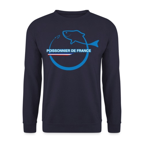Psweat marine personnalisable ville + cp russell athletic - Sweat-shirt Homme