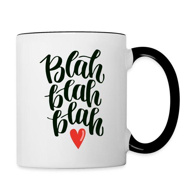 Blah Blah Tasse