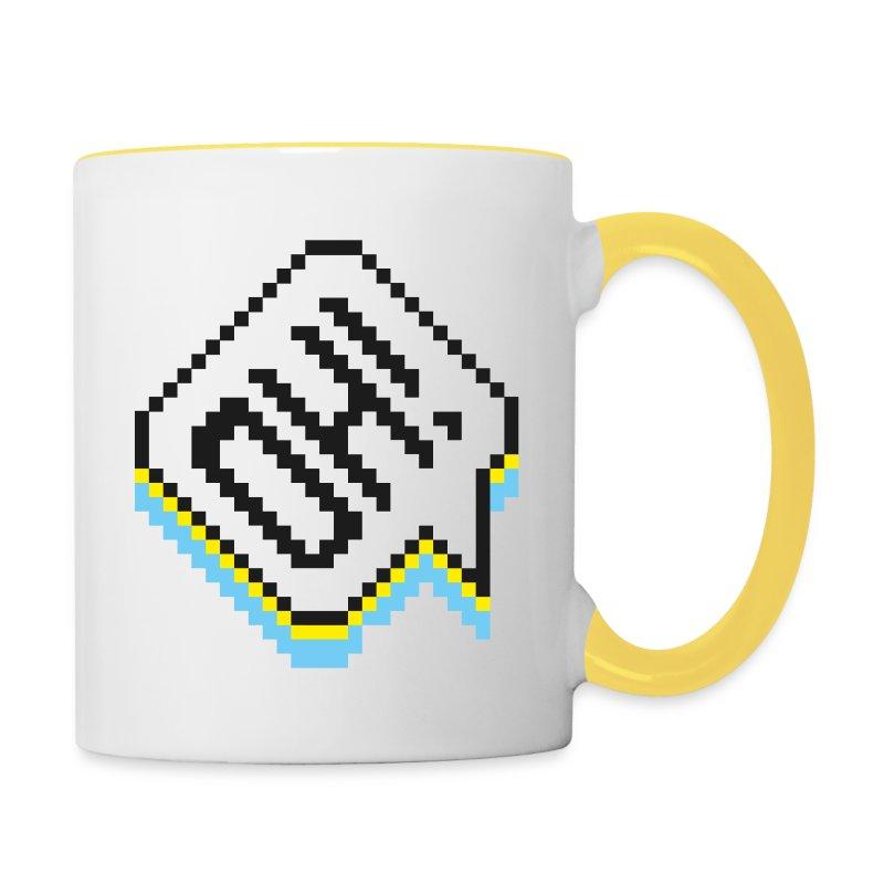 Oh! Tasse - Tasse zweifarbig