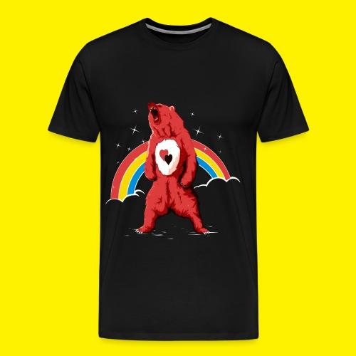 Rainbow Grizzly  - Men's Premium T-Shirt