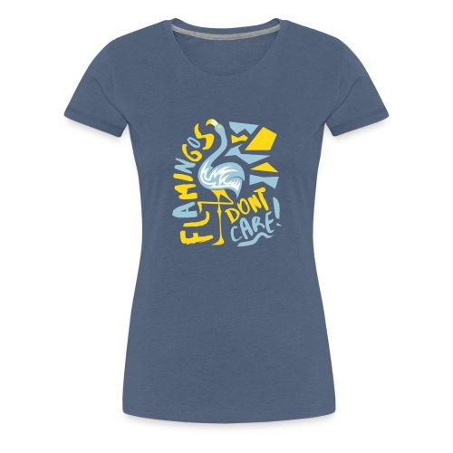 Flamingo // @ddicted (women) - Frauen Premium T-Shirt