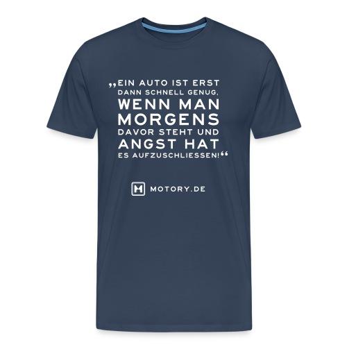 T-Shirt Angst - Männer Premium T-Shirt