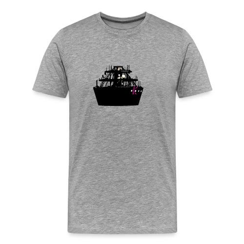 Stadt mit K - Männer Premium T-Shirt
