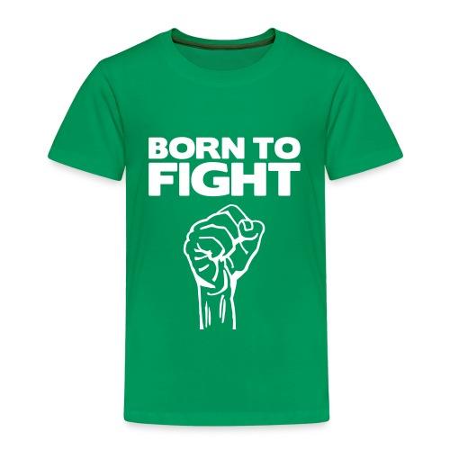 Born to fight, T-shirt - barn - Premium-T-shirt barn