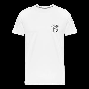 Tenorschlüssel (Vintage/Schwarz) S-5XLT-Shirt - Männer Premium T-Shirt