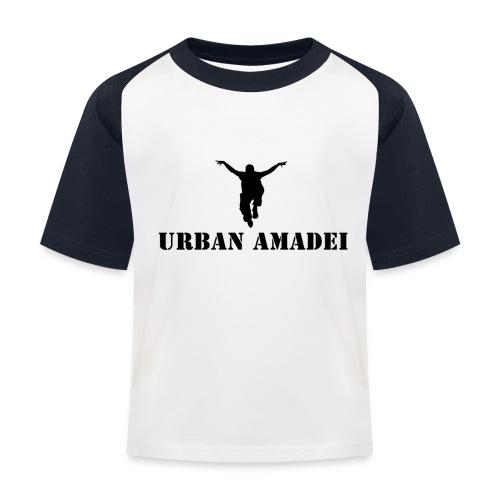 UrbanAmadei Kinder T-Shirt - Kinder Baseball T-Shirt