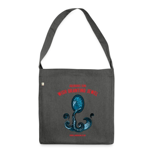 Aquarius Sun Shoulder Bag made from recycled material - Shoulder Bag made from recycled material
