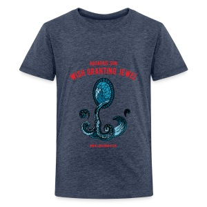 Aquarius Sun Teenage Premium T-Shirt - Teenage Premium T-Shirt