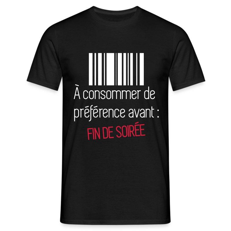Tee shirt consommer avant fin de soir e spreadshirt - Code promo private sport shop frais de port ...