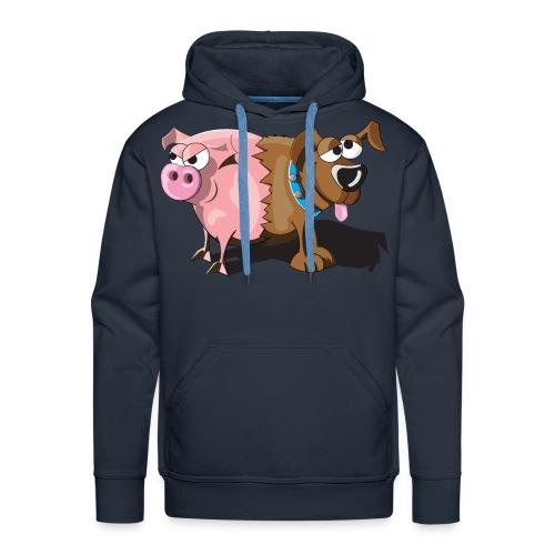 Schweinehund - Männer Premium Hoodie