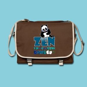 Shoulder Bag Bad panda, be zen or not - Shoulder Bag