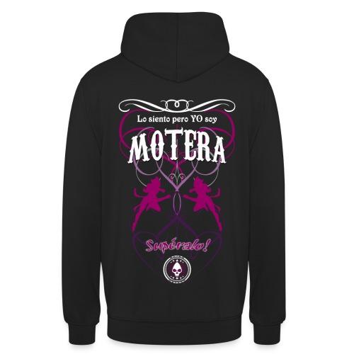 Soy Motera Custom Text - Sudadera con capucha unisex