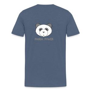 T-Shirt Panda Power - Männer Premium T-Shirt