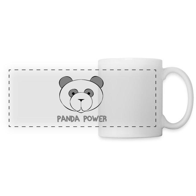 "Tasse ""Panda Power"""