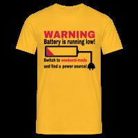 Wochenende Spruch T-Shirt