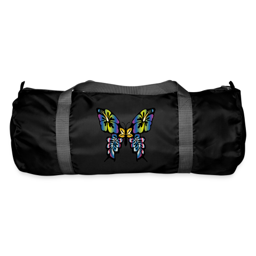 Multi-Coloured Butterfly  - Duffel Bag