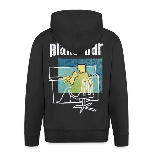 piano bar - Männer Premium Kapuzenjacke