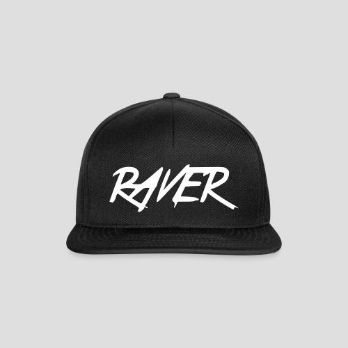 Raver, Cap, black - Snapback Cap