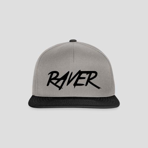 Raver, Cap, black & grey - Snapback Cap