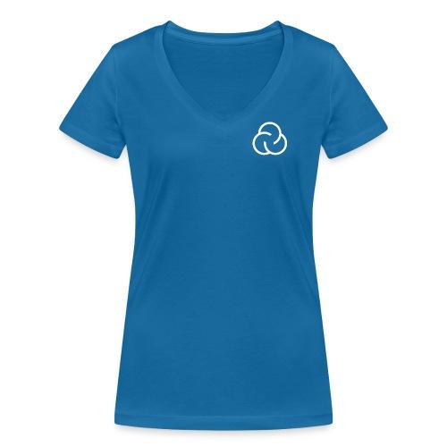 SpinLab - Shirt Female - Staff only - Frauen Bio-T-Shirt mit V-Ausschnitt von Stanley & Stella
