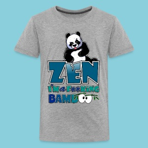Teenage T-Shirt Bad panda, be zen or not - Teenage Premium T-Shirt