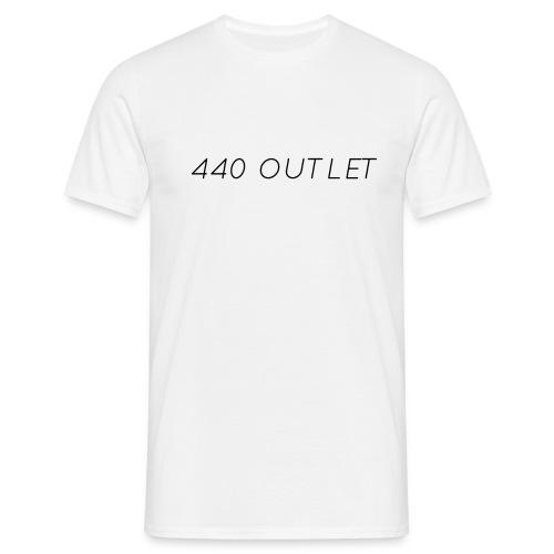 440 Season1 T-Shirt Black Text - Men's T-Shirt