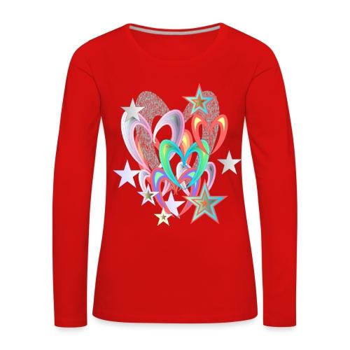 Herzlich  - Frauen Premium Langarmshirt