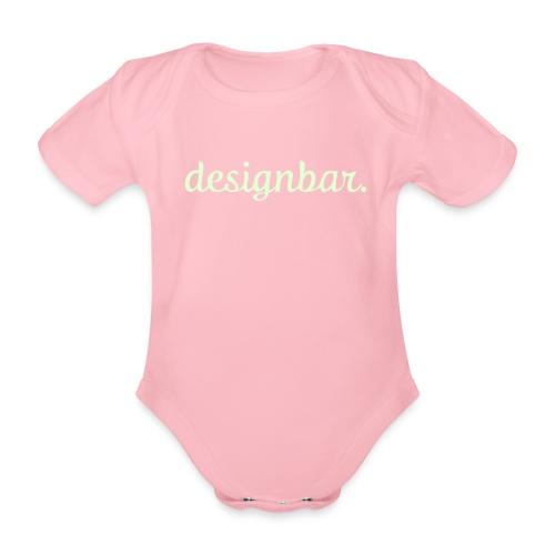 #designbarBABY - Organic Short-sleeved Baby Bodysuit
